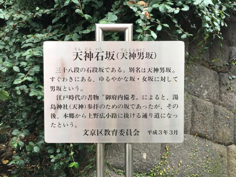 湯島神社 入り口 男坂
