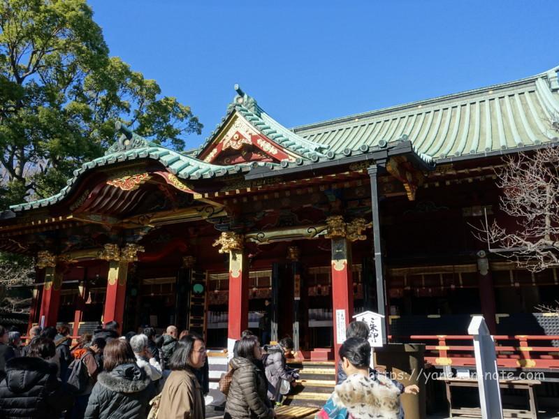 根津神社 初詣
