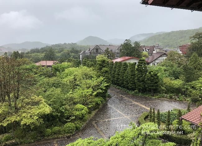 雲仙観光ホテル 庭
