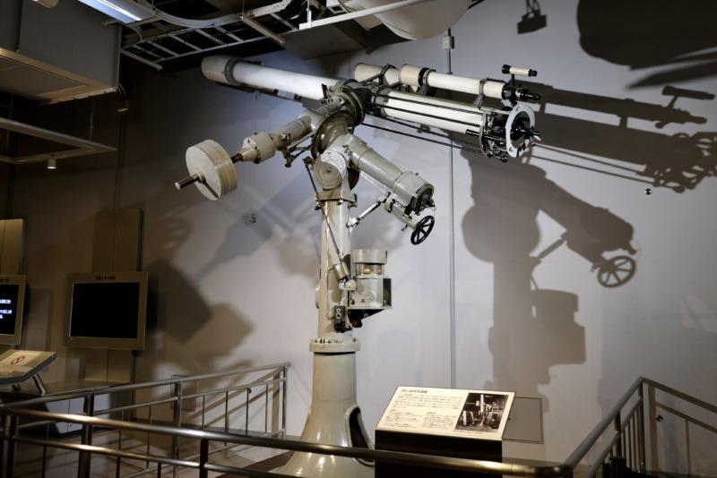 国立科学博物館 地球館 屈折赤道儀