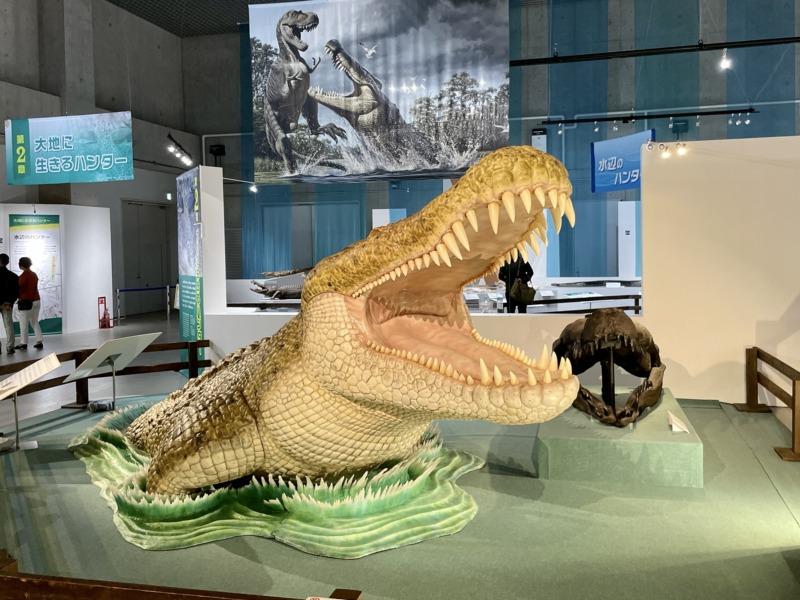 国立科学博物館 大地のハンター展 巨大ワニ