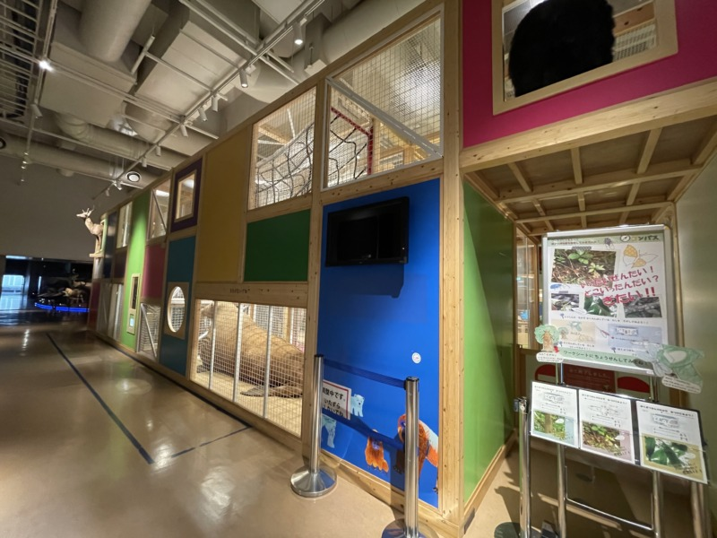国立科学博物館 地球館 コンパス