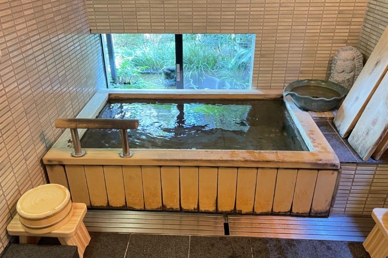 澤の屋旅館 露天風呂